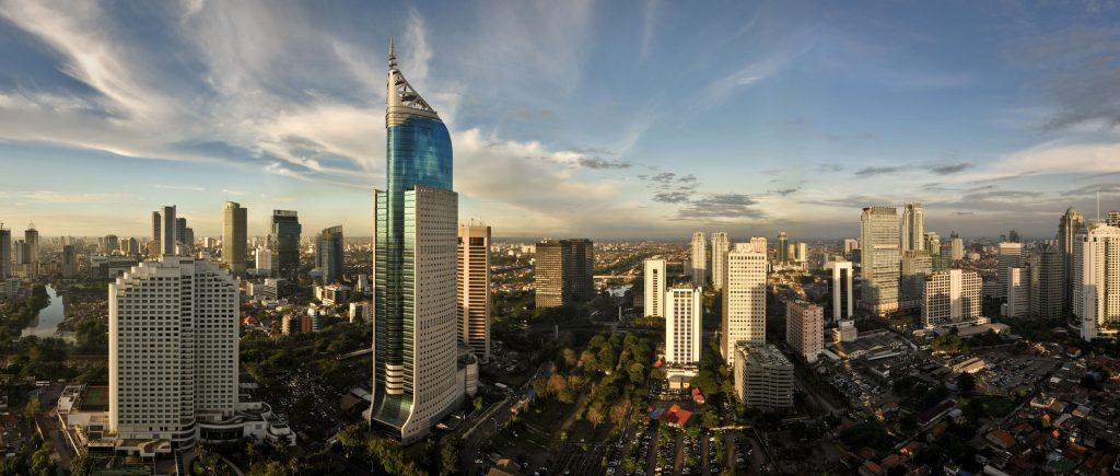 Jakarta-skyline-Indonesia